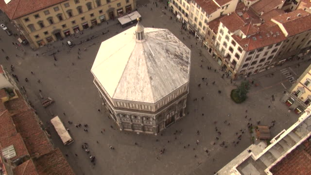 the baptistery of st. john (florence baptistery) / florence, italy - octagon stock videos & royalty-free footage
