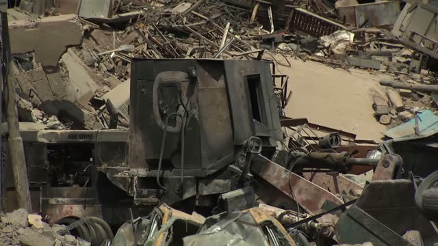 the battle for control of mosul in iraq has left a city in ruins following months under the brutal regime of the socalled islamic state exterior... - mosul stock videos and b-roll footage