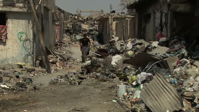 the battle for control of mosul in iraq has left a city in ruins following months under the brutal regime of the socalled islamic state its old city... - mosul stock videos and b-roll footage