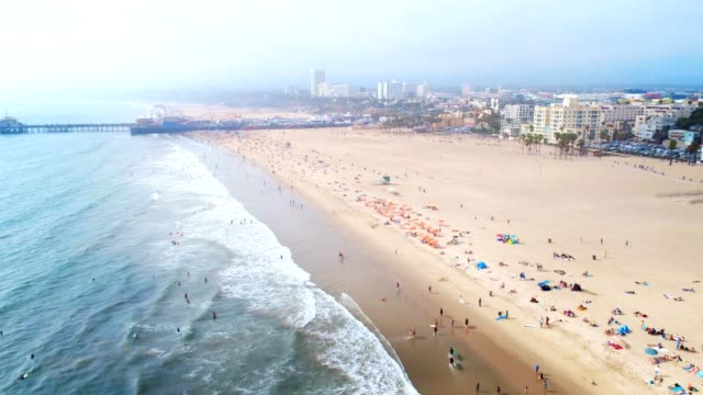 The Beach. Santa Monica, California