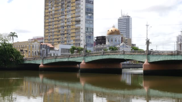 the beautiful city of recife, located in pernambuco state, brazil - brazil stock videos & royalty-free footage