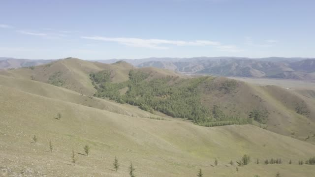 the beautiful gorkhi terelj national park in mongolia, central asia, asia - mongolei stock-videos und b-roll-filmmaterial