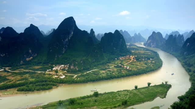 Der wunderschöne lijiang river waterway.