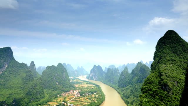 Der wunderschöne lijiang river waterway
