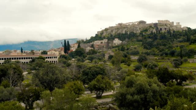 the beauty of greece - the erechtheion stock videos & royalty-free footage