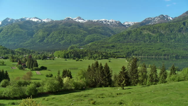 hd: the beauty of julian alps - julian alps stock videos and b-roll footage