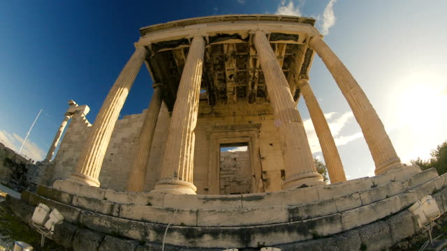 the beauty of the erechtheion in athens - zeus stock videos and b-roll footage