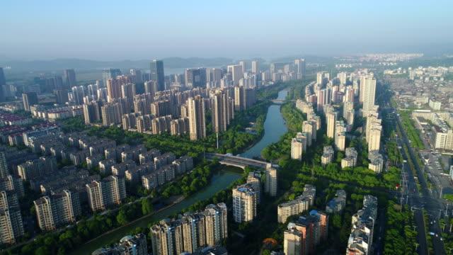 vidéos et rushes de the beijing-hangzhou grand canal in wuxi section of the city - canal eau vive