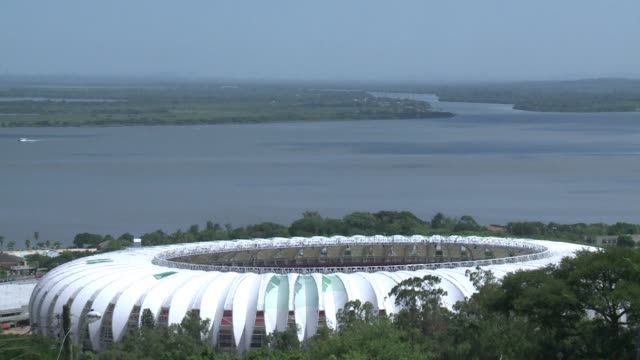The Beira Rio stadium in Porto Alegre one of the 12 host venues of the 2014 World Cup in Brazil is now more than 97% ready according to the...