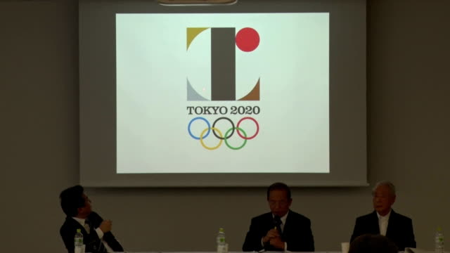 vídeos de stock, filmes e b-roll de the belgian designer who has filed a lawsuit claiming the 2020 tokyo olympics logo plagiarizes one of his creations said friday the claims reiterated... - lawsuit