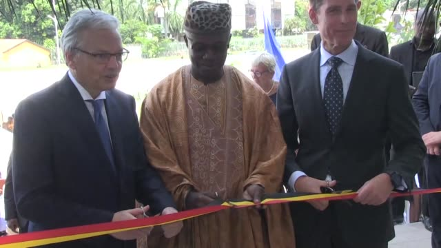 The Belgian Foreign Minister Didier Reynards in Kinshasa to inaugurate a new Belgian and Dutch embassy calls for a fair and timely electoral process...
