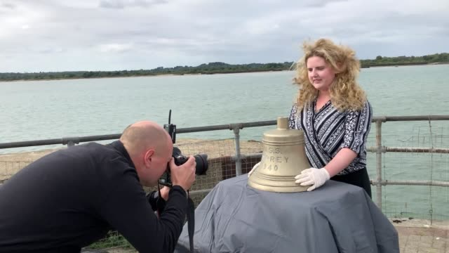 The bell from a US warship believed to have been the first casualty of the DDay operation is to be returned to America after it was handed in to the...