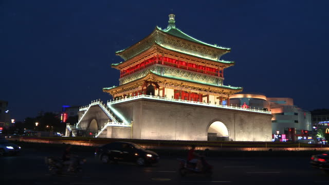 The Bell Tower of Xi'an