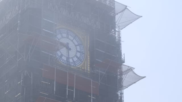 the bells of london's big ben have been struck for the first time in months during a dress rehearsal for this weekend's remembrance sunday memorial. - remembrance sunday stock videos & royalty-free footage