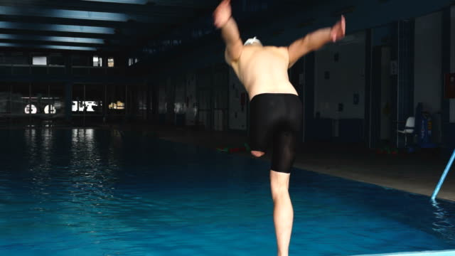 the benefits of swimming no matter what your ability - disability stock videos and b-roll footage