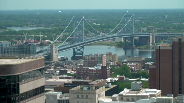 The Benjamin Franklin Bridge - Philadelphia, PA