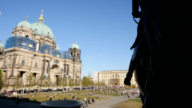 The Berliner Dom and the new Berliner Schloss