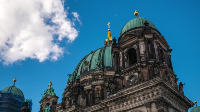 The Berliner Dom - the famous Berlin Cathedral