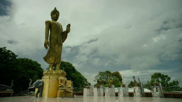the big buddha temple - rappresentazione di animale video stock e b–roll