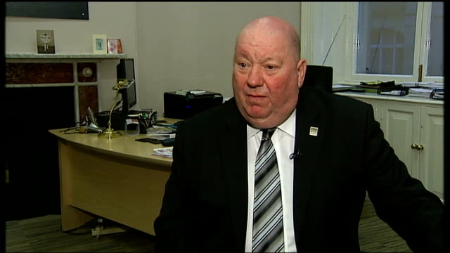 Liverpool Council pull out of scheme INT Joe Anderson interview SOT The scale and level of cuts here to the voluntary sector and community groups...