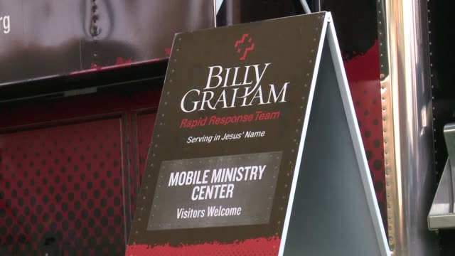 the billy graham evangelical church has dispatched a mobile ministry truck to roseburg oregon in the wake of the shooting that killed 10 people... - community college stock videos & royalty-free footage