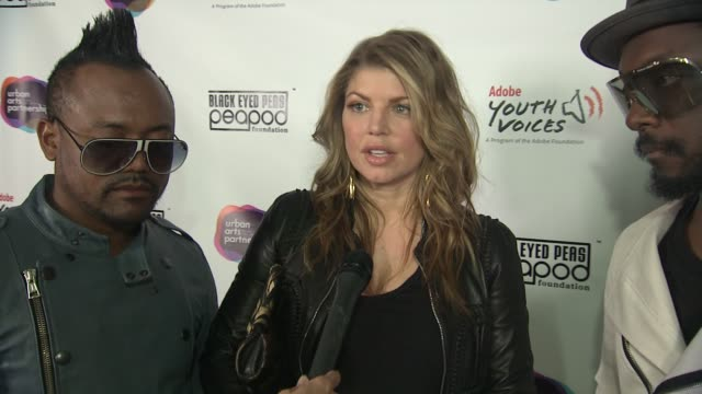 the black eyed peas on what today is all about on the black eyed peas peapod foundation and what inspired them to create it on why they collaborated... - black eyed peas stock videos & royalty-free footage