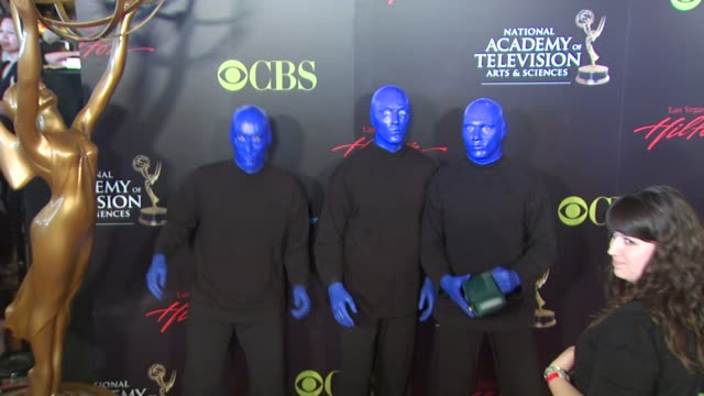 The Blue Man Group at the 37th Annual Daytime Emmy Awards at Las Vegas NV