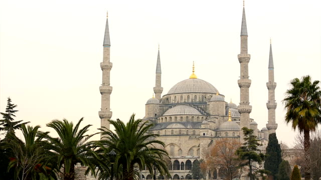 the blue mosque, istanbul, turkey - ancient stock videos & royalty-free footage