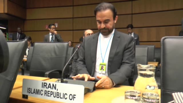 stockvideo's en b-roll-footage met the board of governors of the international atomic energy agency kicked off its seasonal meeting in the austrian capital vienna chaired by iaea... - oostenrijkse cultuur