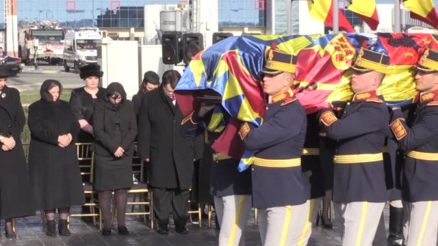 The body of Romania's beloved former king Michael who recently died in Switzerland aged 96 returns to his home country where he will be laid to rest...