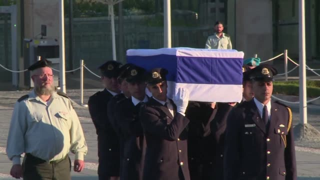 The body of Shimon Peres is to lie in state outside Israels parliament as the world pays tribute to a statesman whose funeral is expected to draw...