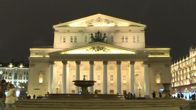 the bolshoi theatre was evacuated on sunday along with major moscow shops and hotels after a series of bomb alerts in the russian capital local news... - bomb stock videos & royalty-free footage