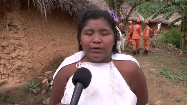 the bolt of lightning that killed 11 people in an isolated indigenous village in colombia was a punishment from nature for neglecting it according to... - latin america stock videos & royalty-free footage