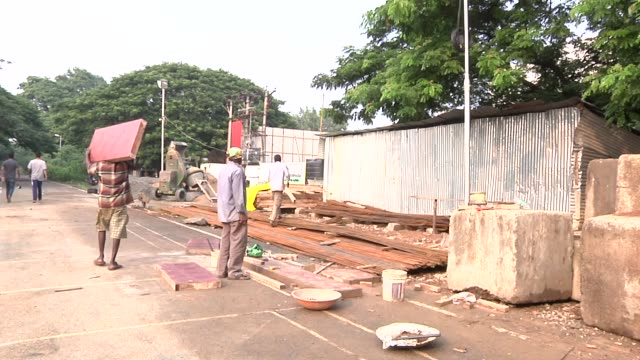 The boom in construction has meant many migrant workers from all over the country moving to big cities such as Chennai to work on buildings as...