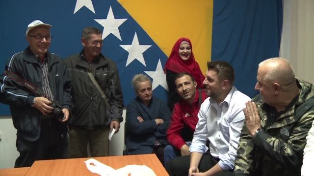 the bosnian town of srebrenica known for the wartime massacre of 8000 muslims by serb forces looks set to get its first serb mayor in 17 years after... - srebrenica stock videos and b-roll footage