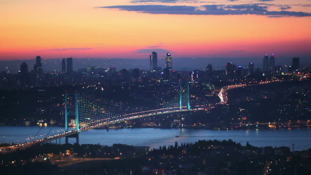 hd: the bosphorus, istanbul - bosphorus stock videos & royalty-free footage