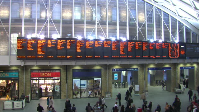 the boss of network rail has told sky news he won't take his annual bonus of up to gbp 34000 after the travel chaos over christmas caused by... - t in the park stock videos & royalty-free footage
