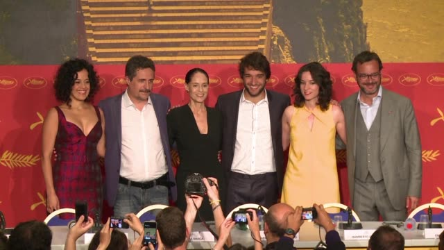 The Brazilian director of the movie Aquarius in competition at Cannes hit out at his countrys new leaders Wednesday for extinguishing the culture...