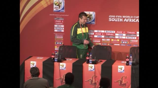 the brazilian football confederation on tuesday appointed dunga as coach replacing luiz felipe scolari whose contract was not renewed after the hosts... - international team soccer stock videos & royalty-free footage