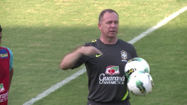 the brazilian football federation announced on friday it had sacked mario menezes manager of brazils national football team. clean : mario menezes... - national team stock videos & royalty-free footage