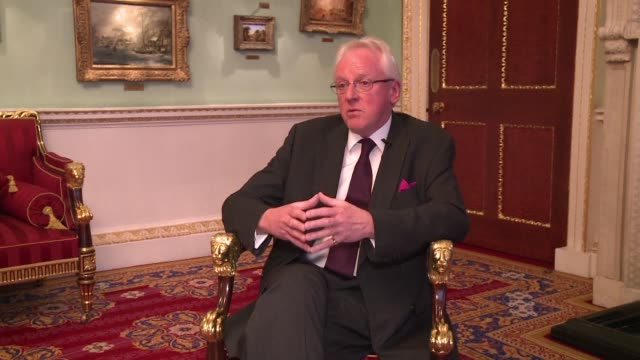 the brexit vote has shaken the city of london but will not destroy it despite creating uncertainty the newly installed lord mayor of the financial... - lord mayor of london city of london stock videos & royalty-free footage