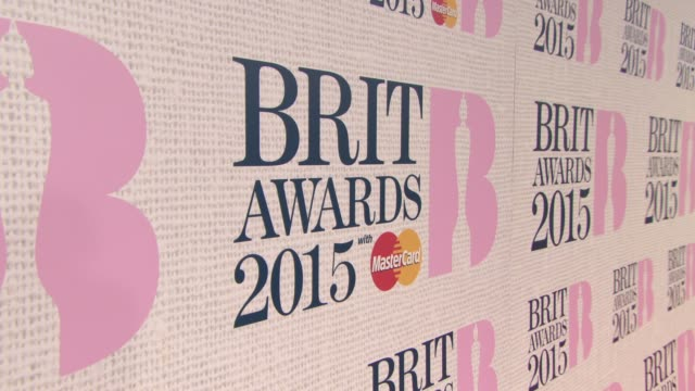 the brit awards 2015 at the o2 arena on february 25, 2015 in london, england. - 2015 stock-videos und b-roll-filmmaterial