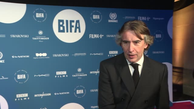 red carpet arrivals england london int red carpet arrivals steve coogan interview by other reporter / steve coogan interview sot / general views of... - steve coogan stock videos & royalty-free footage