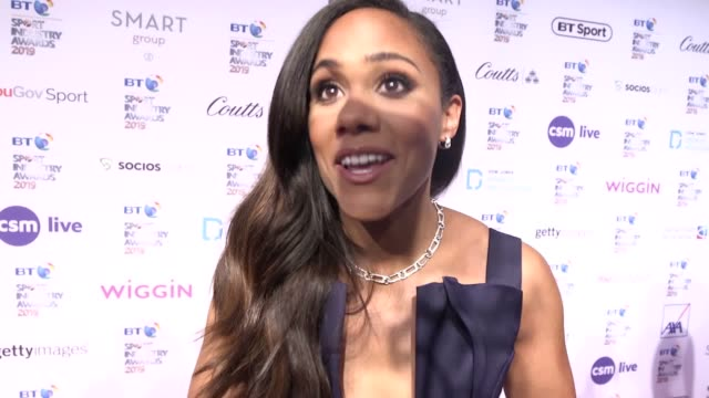 the bt sport industry awards 2019 take place at battersea evolution london interviews with johnny nelson alex scott heather watson tony mccoy fabrice... - fabrice muamba stock videos and b-roll footage
