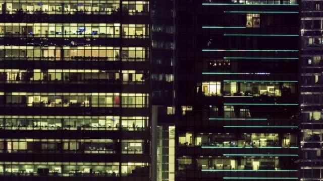 4 K TIMELAPSE(4096x2160): Bauamt und Stadtbild in Hong Kong und Zeit verfallen Teamarbeit des Geschäfts. Das Stadtbild und das Leben. Late.panning Stile zu arbeiten.