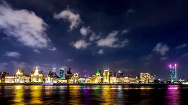 T/L WA ZI The Bund at Night / Shanghai, China