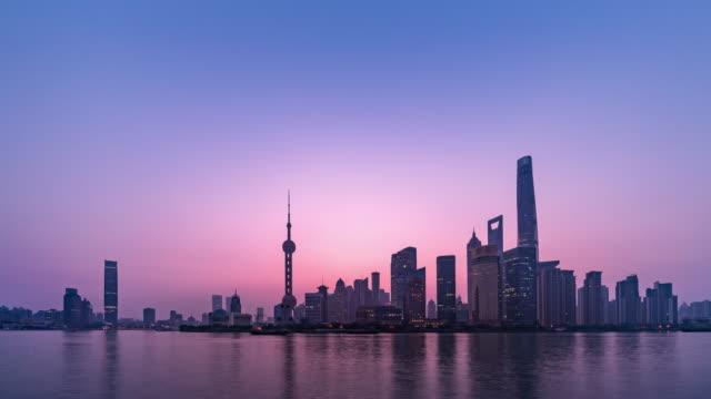 the bund, shanghai - ウォーターフロント点の映像素材/bロール