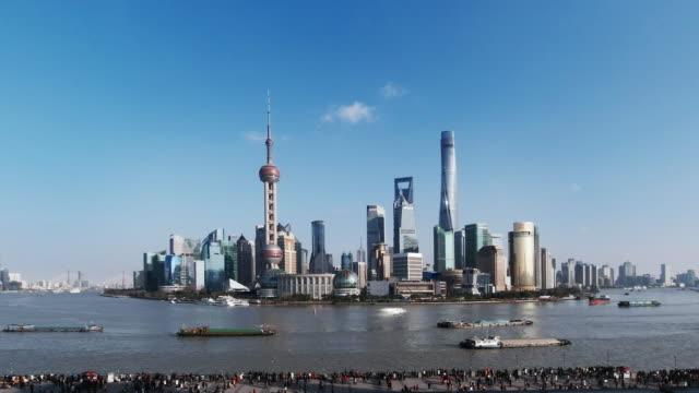 the bund shanghai - 東方明珠塔点の映像素材/bロール