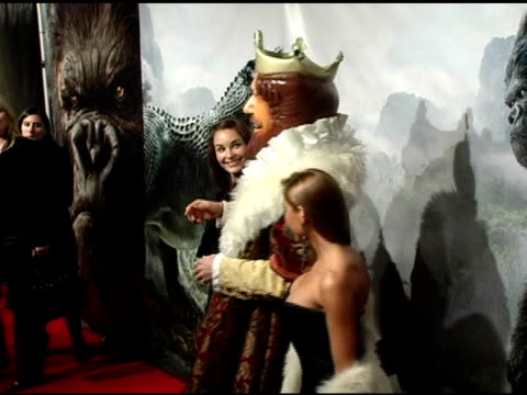 The Burger King at the 'King Kong' New York Premiere at Loews EWalk and AMC Empire Cinemas in New York New York on December 5 2005