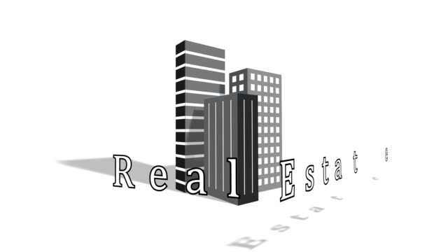 the business of real estate - commercial sign stock videos & royalty-free footage
